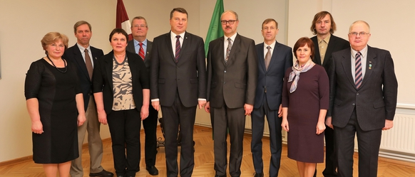 Reģionālā darba vizītē Cesvainē viesojies Valsts prezidents Raimonds Vējonis