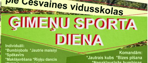 Ģimeņu sporta diena