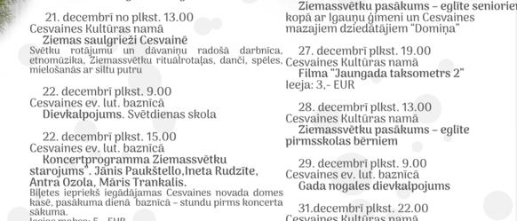 Decembris - Ziemassvētku mēnesis